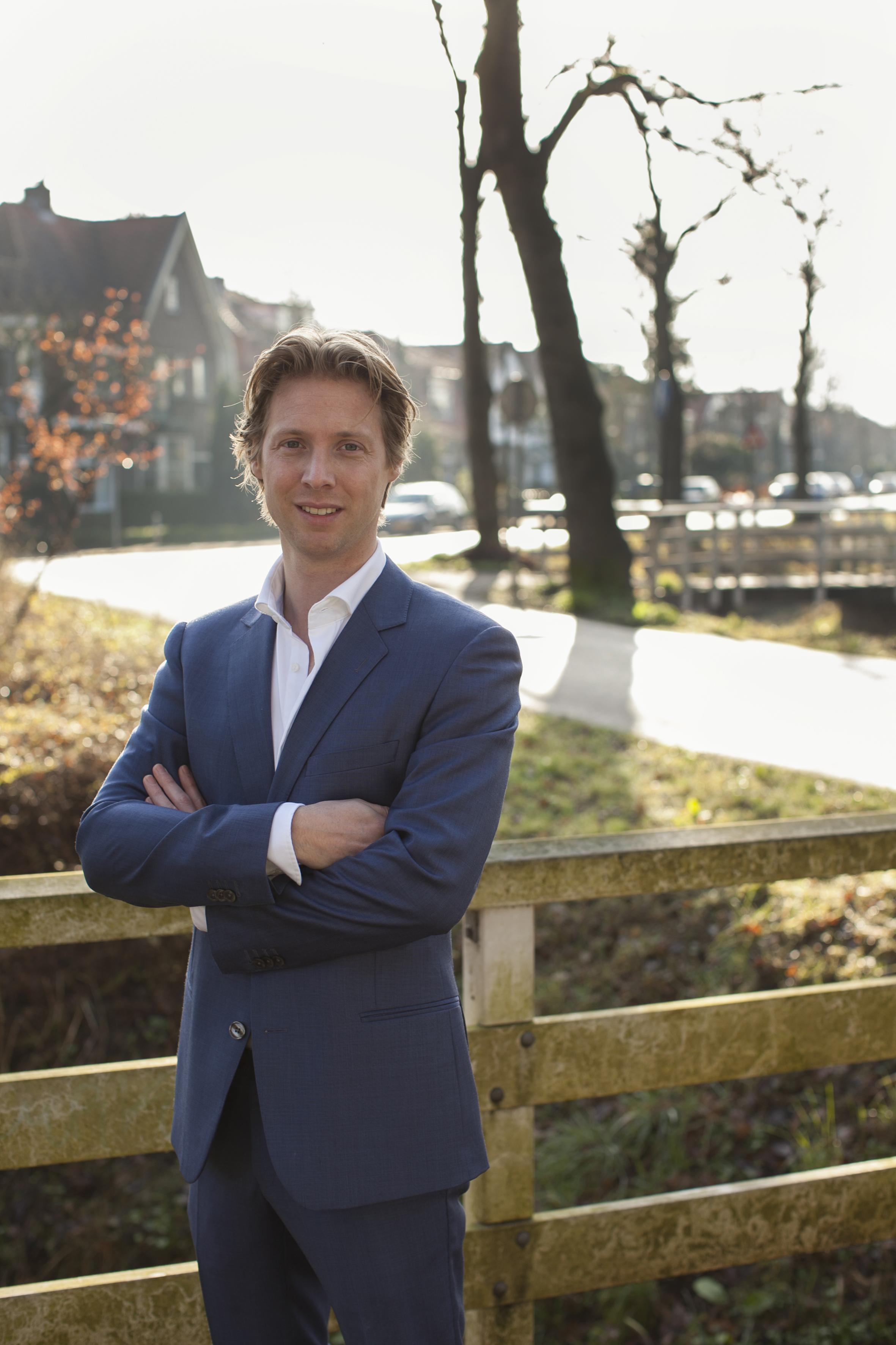 Maarten Burggraaf, VVD kandidaat 3, lijst 3, tbv campagne
